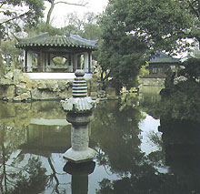 Chinese garden (Suzhou Administration Garden) 