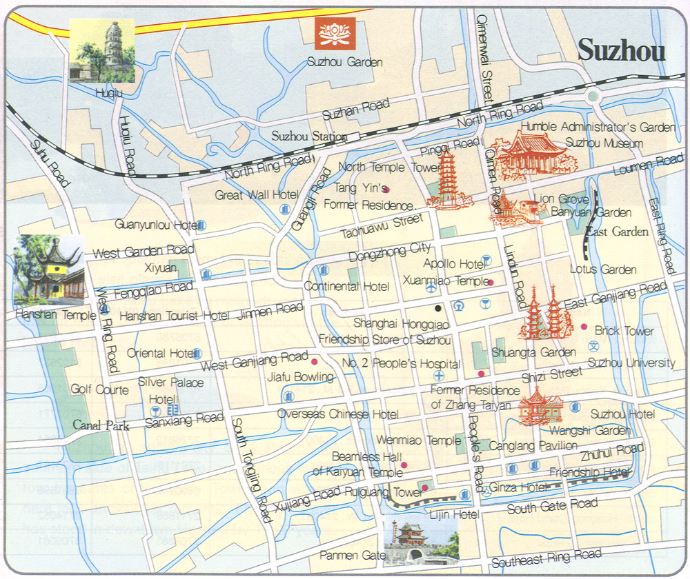 Map Of China And Shanghai Beijing And Other Chinese Cities
